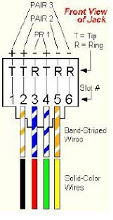 rj11 telephone wiring diagram wiring diagram rj11 phone wiring solidfonts cat6 wall outlet wiring diagram