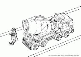 Small Picture Tow Truck Coloring Pages Lego City Flatbed Truck International