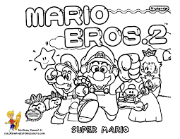 Small Picture Super Mario Bros Characters Coloring Pages Coloring Home