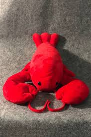Funny Cute Cartoon Lobster Shaped Red ...