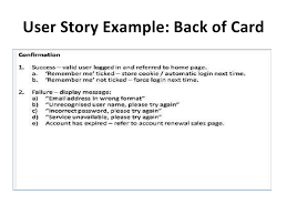 Agile Story Card Template Word Introducing Agile User Stories