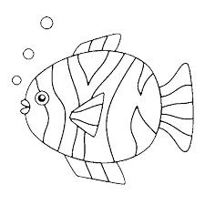 Disegno Da Colorare Pesce Daprile 5