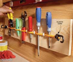 elastic cord tool holder