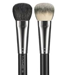 128 split fibre cheek brush