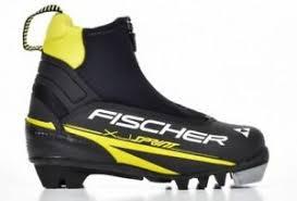 Details About Fischer Xj Sprint Cross Country Xc Ski Boots Nnn Youth Kids Eu 35 Us 4
