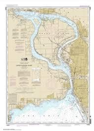 14832 Upper Niagara River Nautical Chart