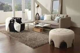 atlanta round coffee table rug living room contemporary with nailhead detail rectangular area rugs gray sofa
