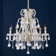 marie therese milky white antique french style chandelier