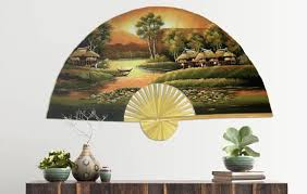 Japanese Fan Display Stand Wall Fans 96