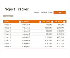 Excel Template For Project Tracking Free 5 Sample Project Tracking Templates In Pdf Doc
