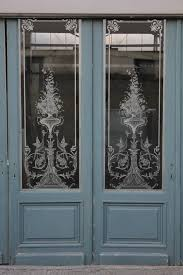 louis xv etched glass doors glass