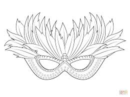 Small Picture Venetian Mardi Gras Mask coloring page Free Printable Coloring Pages