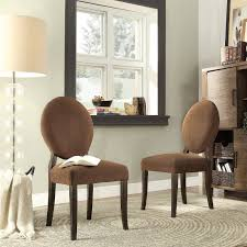 Inspire Q Blanca Round Back Dining Chairs - Set of 2 | from hayneedle.com