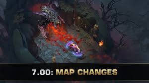 dota 2 new map patch 7 00 youtube
