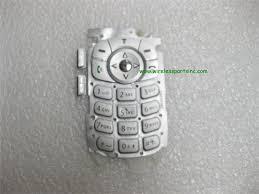Motorola V180 V186 V188 keypad Silver