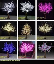 outdoor blossom tree led lights. life-size white blossom tree featuring brilliant led blossoms trees for special events and outdoor led lights