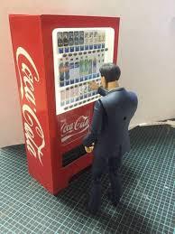 Free Coke Vending Machine Adorable Simple CocaCola Vending Machine For Diorama Free Papercraft