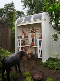 small pool shed. Outdoor Storage Ideas For Pool Toys Garden Tools And More HGTV Small Shed