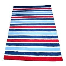 blue and white striped rug navy and white striped rugs red blue rug image 1 target blue and white striped rug