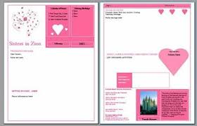 Ambers Notebook February Newsletter Template Rs Newsletters