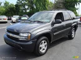 2004 Dark Gray Metallic Chevrolet TrailBlazer LT 4x4 #13924697 ...