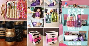 25 brilliant and easy diy makeup storage ideas page 2 of 2 cute diy projects