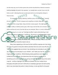 Poetic Understatement Essay Example Topics And Well