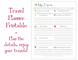 trip planner templates us trip planner military bralicious co