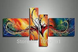 art large wall decor sets with no frame