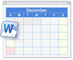 Schedule Word Calendar And Schedule Templates