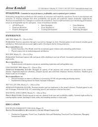 examples profile resume cv resume teaching resumes for new example hospitality resume