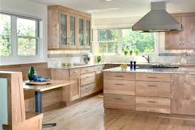 natural wood cabinets kitchen contemporary kitchen natural wood cabinets with painted doors natural wood cabinets