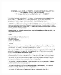 Sample Academic Recommendation Letter 5 Examples In Word Pdf