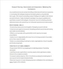 data analyst resume free download market research analyst resume sample