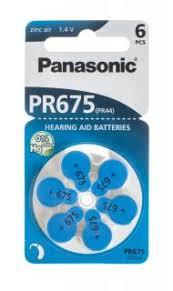 Купить <b>Батарейка</b> Panasonic PR675 <b>PR44</b> 6LB HEP 6 шт ...