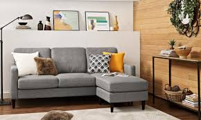 couches for small spaces. Couch, Small Couches Cheap For Space Elegant Design Of Gray Fabric L Shape Black Spaces