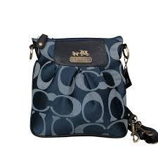 ... Coach Logo C Monogram Small Navy Crossbody Bags EQR Coach Legacy  Swingpack In Signature Medium ...