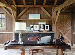 detached home office. Fabulous Farmhouse Homeoffice Detached Office Features Gray Exterior, Barn Door And Stone Wall. Sliding Collection Of White Grey Home