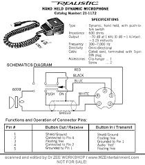 Cobra Power Mic Wiring Diagram Cobra 148 GTL Mic Wiring