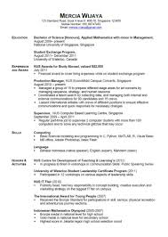 Example Of Stay At Home Mom Resume