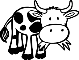 Small Picture Baby Farm Cow Animal Coloring Page Wecoloringpage