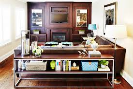 sofa table in living room. Contemporary Behind Sofa Table In Living Room N