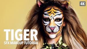 tiger special fx makeup tutorial
