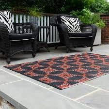 chittagong black outdoor mat