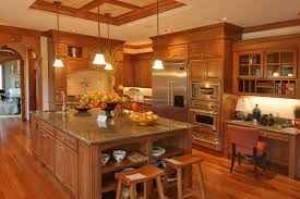 modern country kitchen with oak cabinets.  Oak Kitchen Colors With Dark Oak Cabinets Dish Racks Springform Pans Featured  Categories Sauce Microwaves Grills Skillets Inside Modern Country Kitchen With Oak Cabinets U