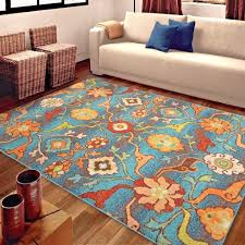 rugs area rugs carpet 8x10 area rug large rugs fl colorful blue rugs modern