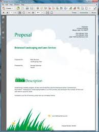 landscape proposal template word view lawn care and landscaping services proposal random lawn