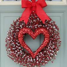 valentine wreaths for your front doorValentine Wreaths For Front Door  istrankanet