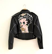 betty boop leather jackets s