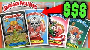 Kid Cards Garbage Pail Kids Cards Worth Money Most Valuable Cards Youtube